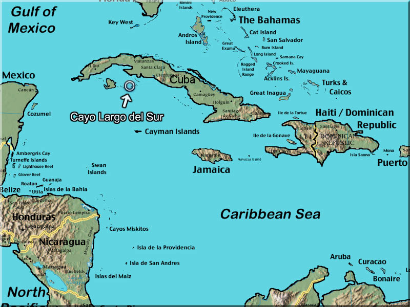 Cayo Largo Map Cayo Largo, Cuba | The most complete tourist guide!
